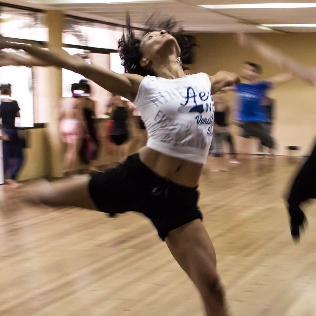 "Meet Sheila: Contemporary dance instructor at ""Happy Dance"""